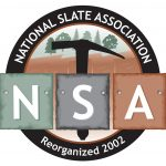 The National Slate Association, showing the three color families of roofing slates