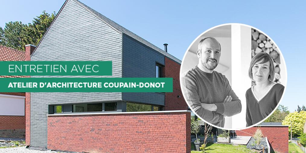 Julie Donot en Philippe Coupain vormen samen Atelier d'Architecture Durable