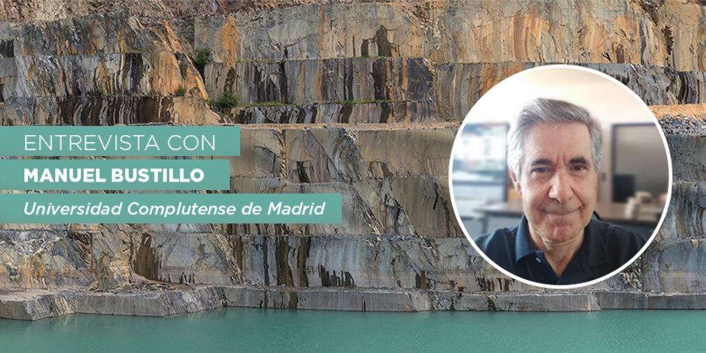 Manuel Bustillo profesor geología en la Universidad Complutense de Madrid