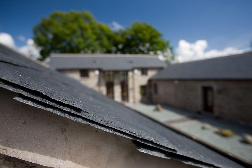 roof slate detail