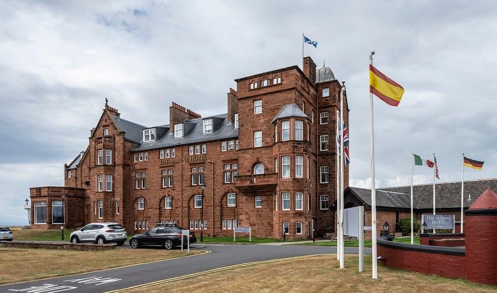 troon marine hotel uk