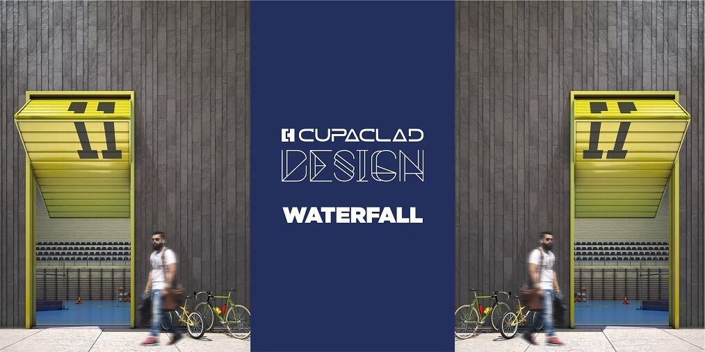 cupaclad design waterfall