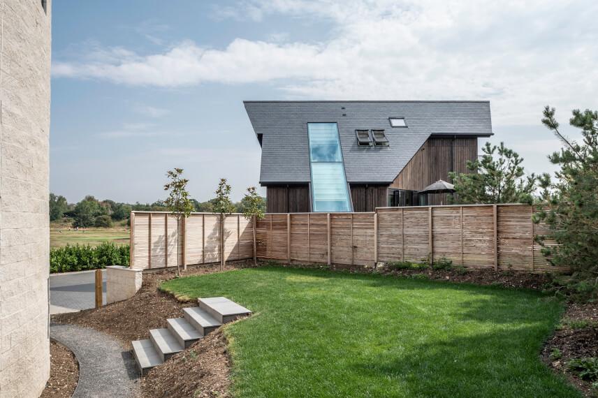 roof slate house