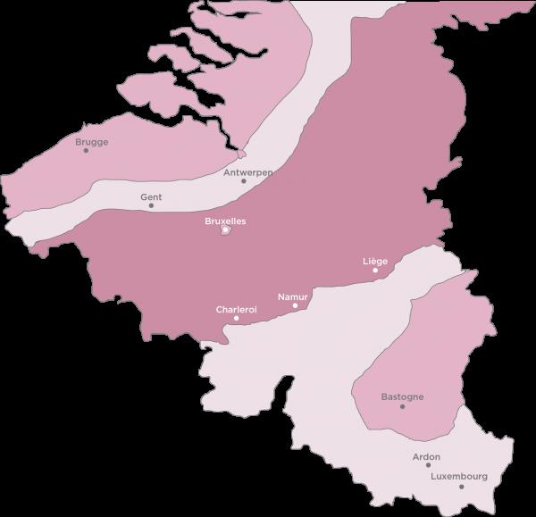 belgique regions