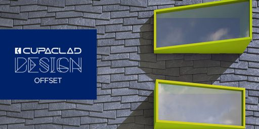 CUPACLAD Design OFFSET, diseño asimétrico para fachadas ventiladas