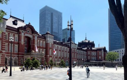 réfection de la gare de Tokyo