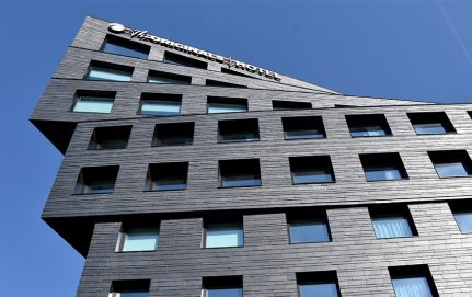 Binet building covered with natural slate in Paris