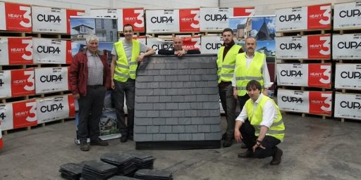 participants in the first CUPA PIZARRAS slate training day in Scotland