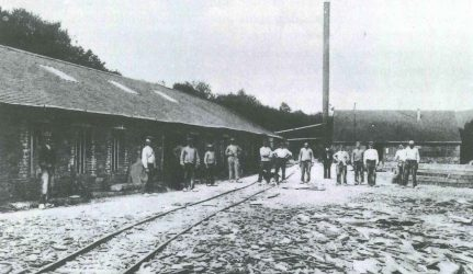 Rimogne (Ardennes) Ardoisiere ouvriere Risque-Tout