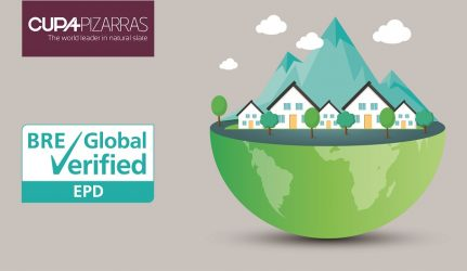 CUPA PIZARRAS roof slates are BRE Global verified
