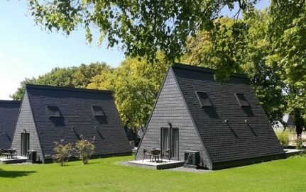 tiny houses slate roofing cladding