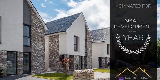 Sikorski Gardens development, finalist of the Scottish Home Awards 2019